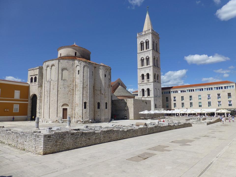 Zadar látnivalók